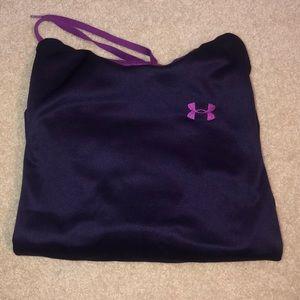 Under Armor Purple hoodie